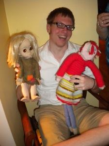 Jesse and dolls