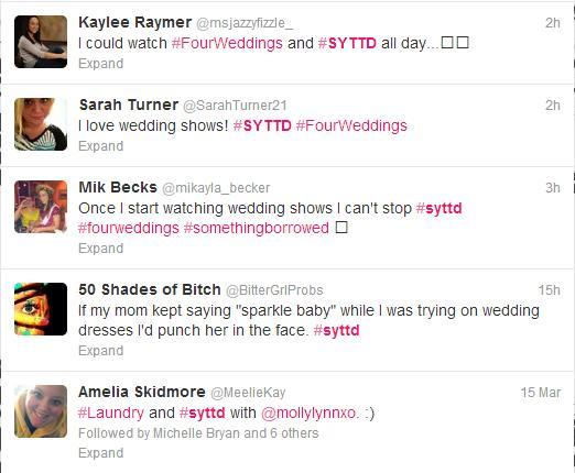 #syttd Twitter